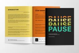 Pause Activity Book   Portfolio