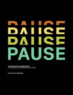 Pause Activity Book | Portfolio